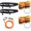 Swimrunners Support Pull Belt Team Kit Orange